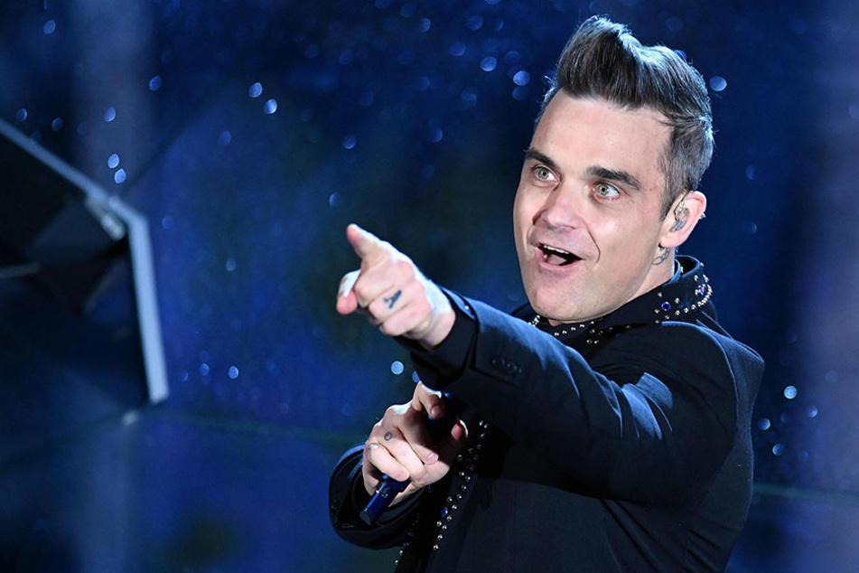 Ob Robbie seine Aussage ernst meinte?