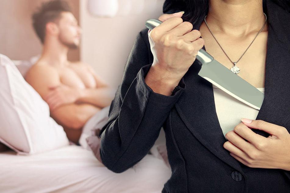 Nachbarn hörten ihn schreien: Frau schneidet ihrem Liebhaber den Penis ab