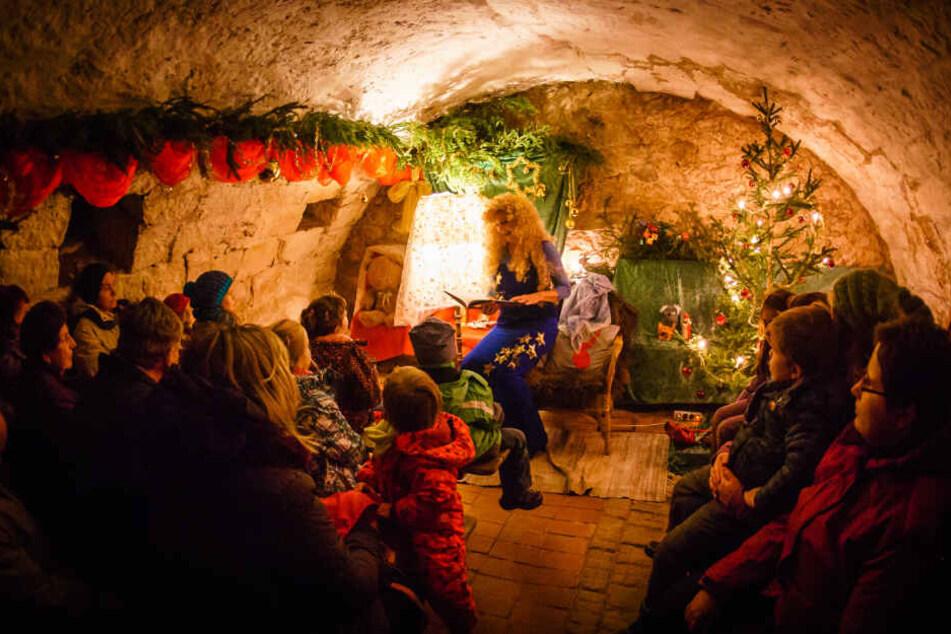 Der Märchenkeller in Altkötzschenbroda ist besonders für Kinder ein schönes Erlebnis.