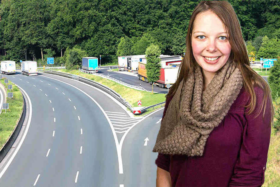 Polizei sucht Leiche von Sophia (28): Ist dieser Parkplatz der Tatort?