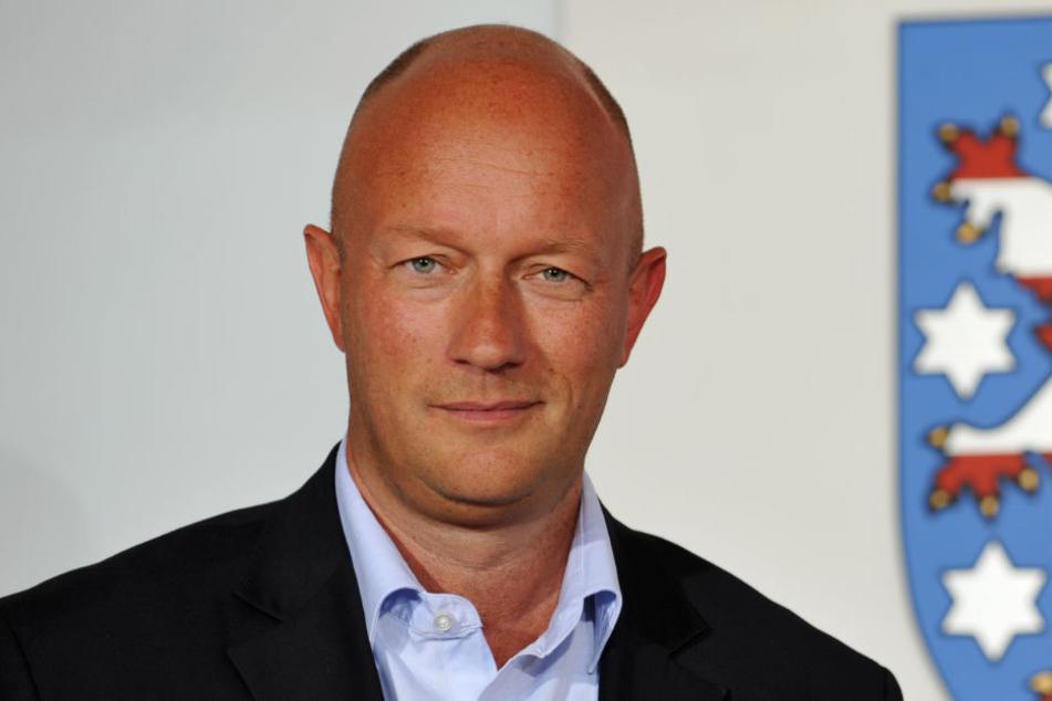Thomas Kemmerich ist der Präsident der Gemeinschaft Erfurter Carneval.