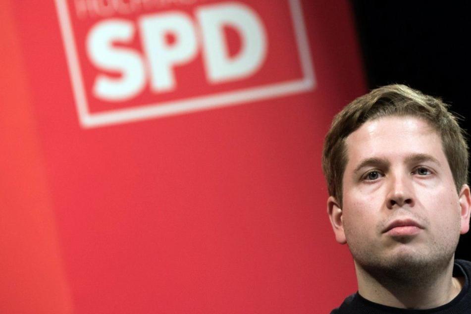 Juso-Chef Kevin Kühnert (29) war von Anfang an Gegner der GroKo in Berlin.