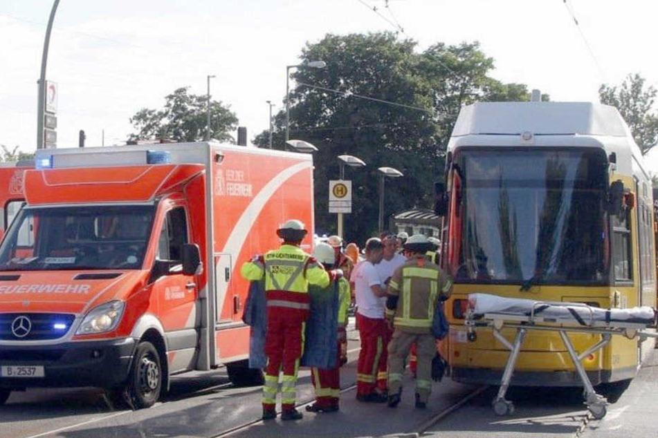 Ein Fußgänger wurde vergangene Woche von einer Straßenbahn erfasst. (Symbolbild)