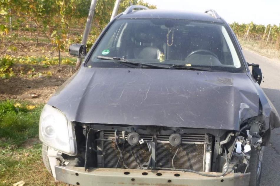 Der Schaden am Auto betrug rund 5000 Euro.