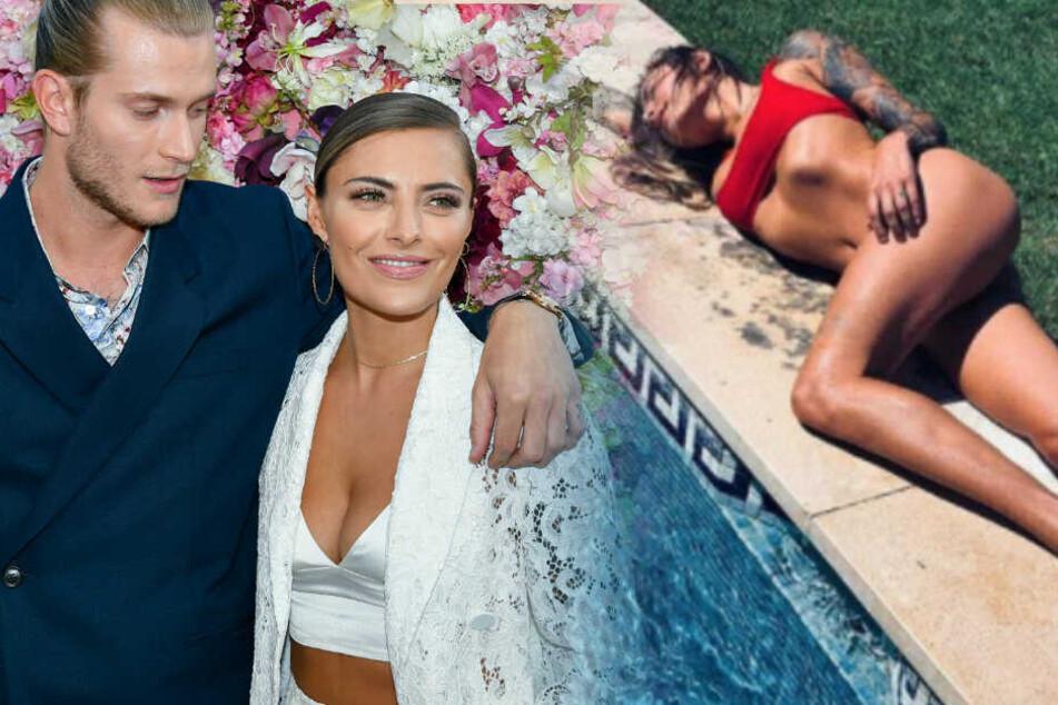 Sophia Thomalla räkelt sich sexy am Pool und kassiert
