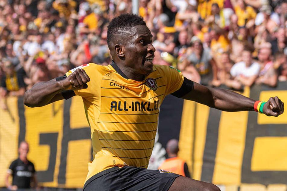 Moussa Koné jubelt auch weiter für Dynamo.