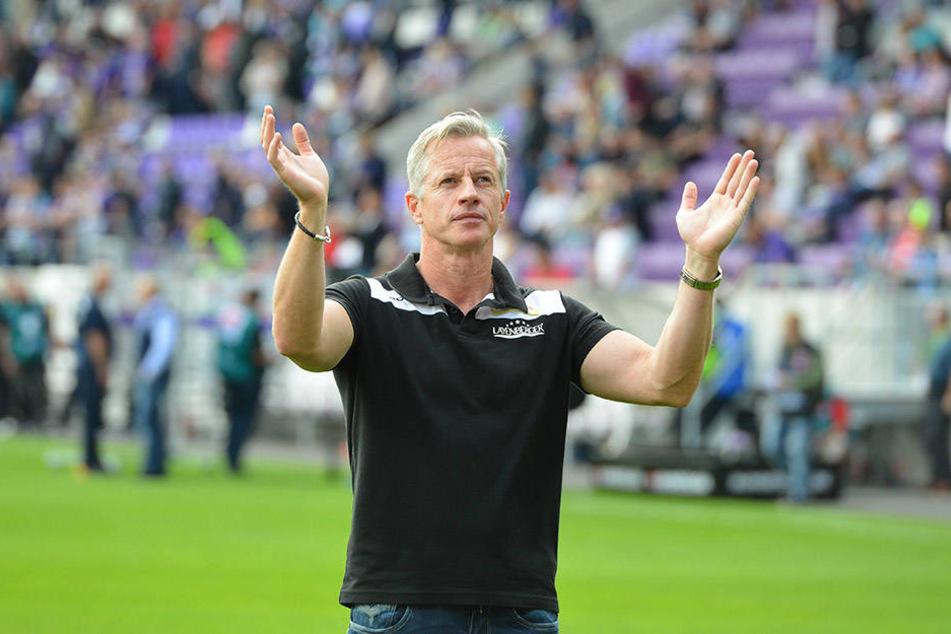 Wunschtrainer der Fans bleibt Wunschdenken, weil finanziell überhaupt nicht machbar: Jens Keller.