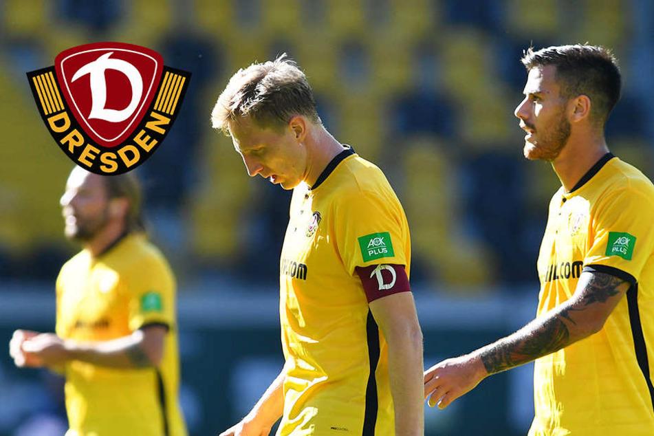 Bei Dynamo war der Sprit alle! 0:1-Niederlage gegen Fürth