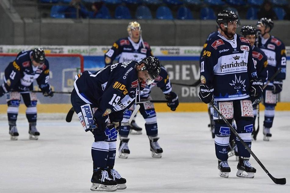 In Freiburg verloren die Eislöwen am Ende mit 3:1.