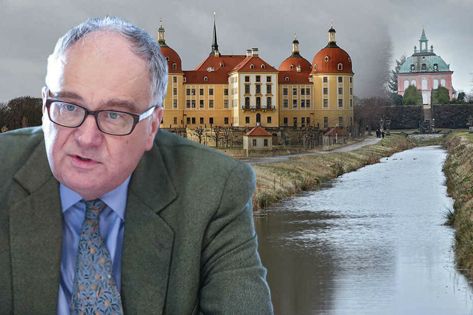 Canal Grande: Moritzburg wird zum Klein-Venedig