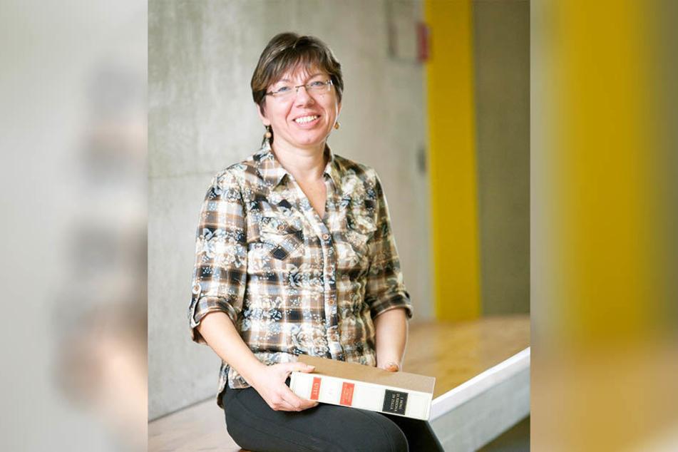 Namensforscherin Gabriele Rodriguez (54).