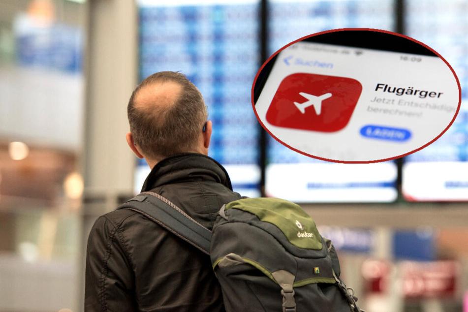 Flug verspätet oder annulliert? Diese App soll jetzt helfen!