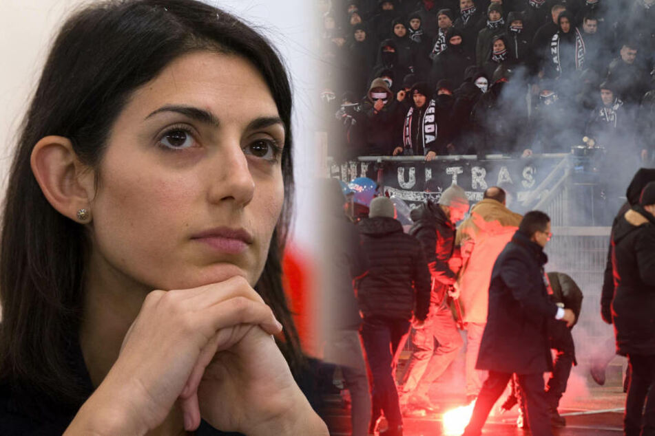 """Bestien""! Roms Bürgermeisterin schießt gegen Eintracht-Fans"