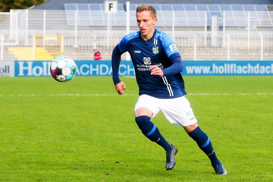 Paul Milde (26) kam für den Chemnitzer FC in 85 Partien zum Einsatz, erzielte drei Tore und gab hervorragende 23 Vorlagen.