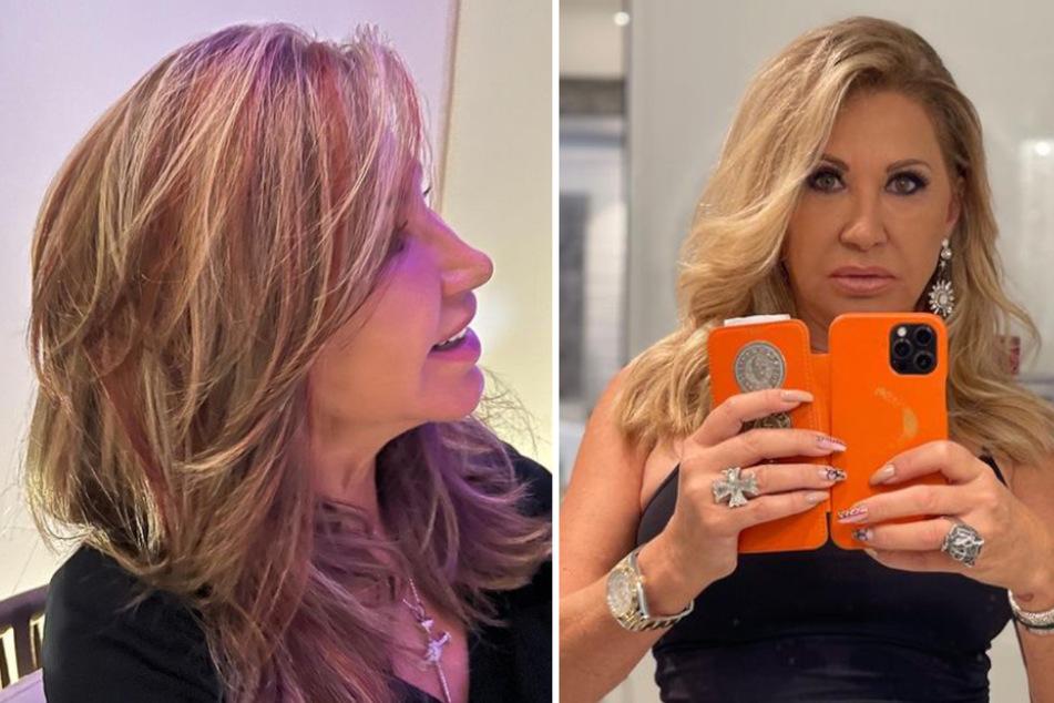 Carmen Geiss: Strähnchen! Carmen Geiss überrascht mit neuer Haarfarbe