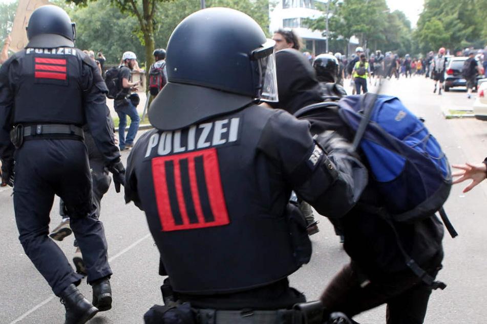 445 Beamte aus Thüringen waren in Hamburg im Einsatz. 14 wurden verletzt.