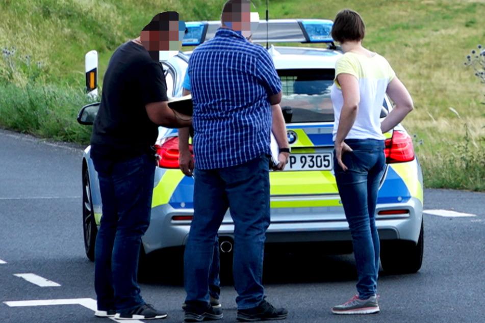 Die Ermittlungen zu dem Vorfall in Werneck dauern an.