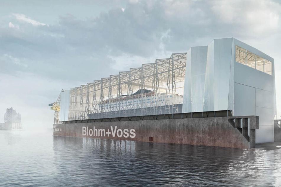 Hafen-Wahrzeichen bekommt durchsichtiges Dach