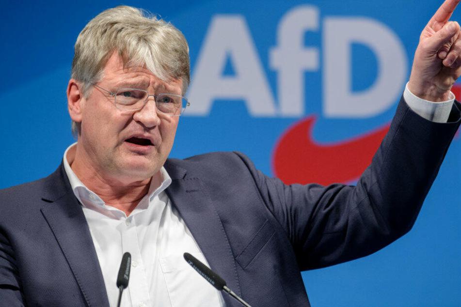 Jörg Meuthen spricht beim politischen Aschermittwoch der AfD.