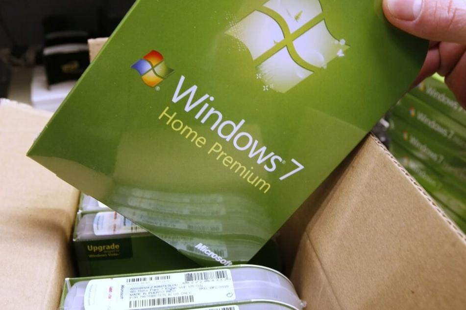 Ein Paket mit Microsoft 7.