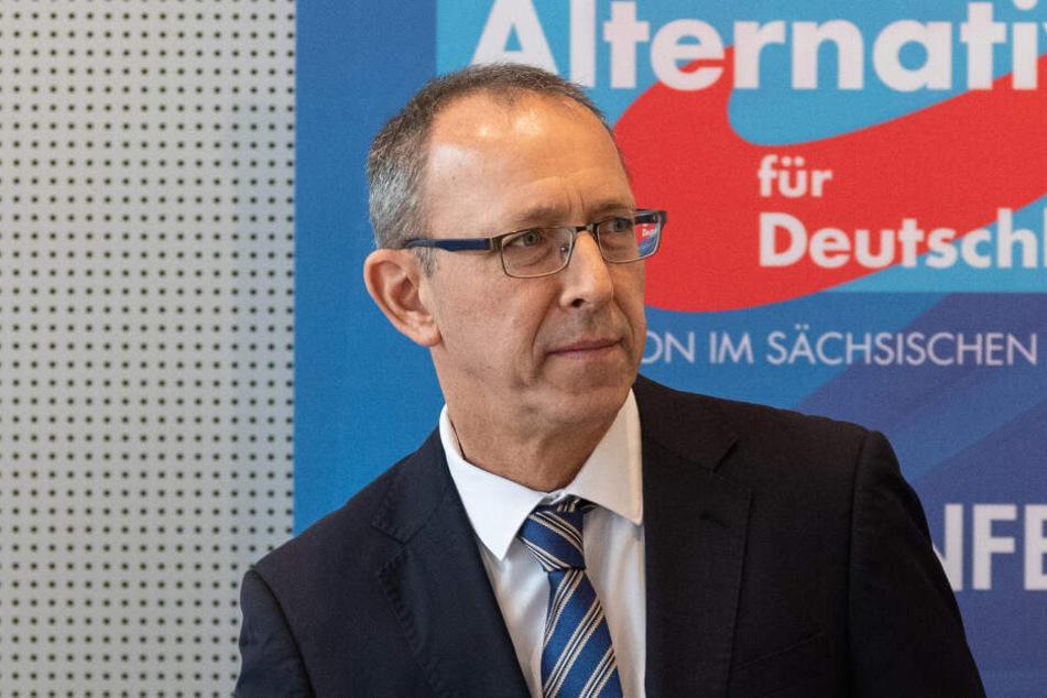 Der sächsische Landes-Chef Jörg Urban (55, AfD).