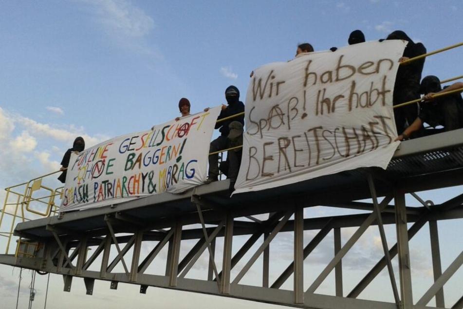 Nach Besetzung von Kohlebagger: Person in U-Haft