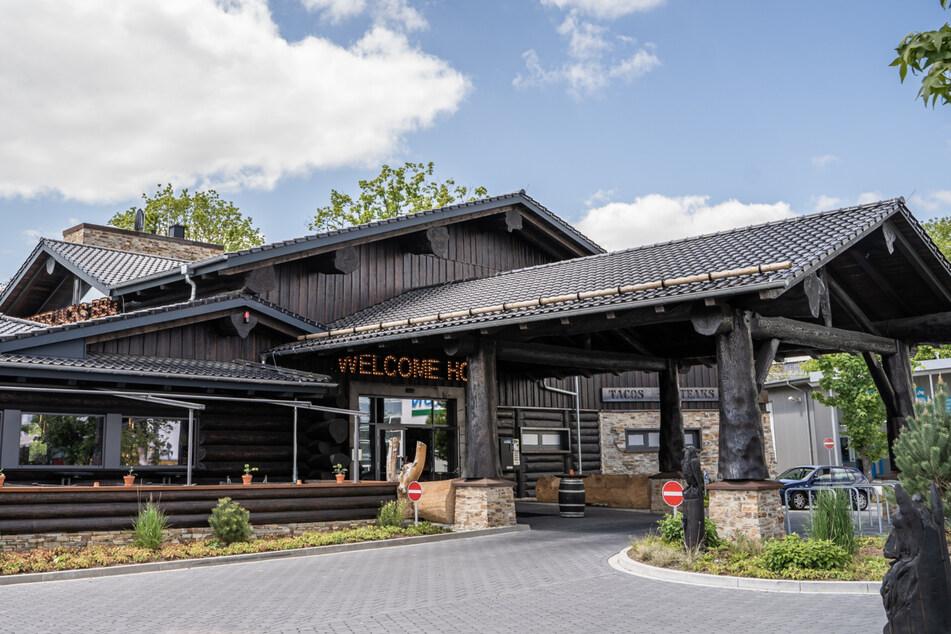 So ein extravagantes Holz-Restaurant soll in Bannewitz, unweit der Autobahn-Abfahrt Südvorstadt, entstehen.