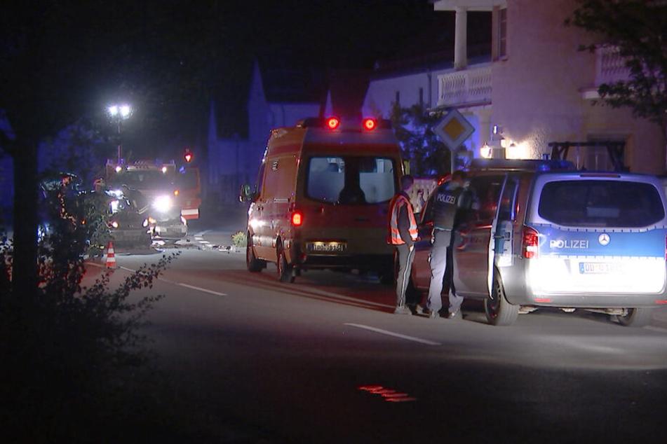 Die Wagen erlitten Totalschaden. Wie durch ein Wunder wurde jedoch niemand verletzt.