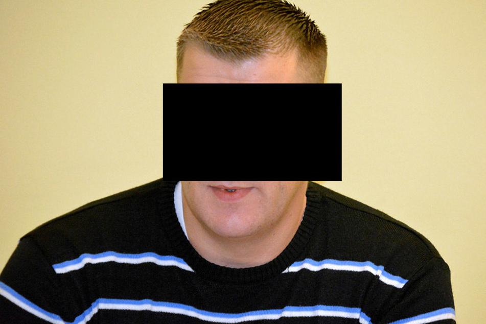 Michael H. (32) randalierte und prügelte, musste deswegen vor Gericht.
