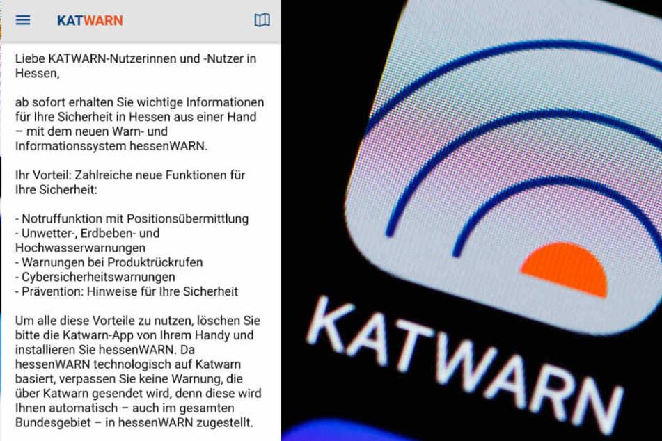"""User entsetzt: Neue App """"Hessenwarn"""" sorgt für Unmut"""