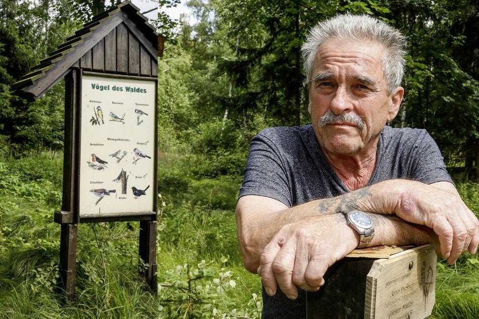 Bei denen piept's wohl! Diebe klauen uriges Vogelhaus aus Stadtwald
