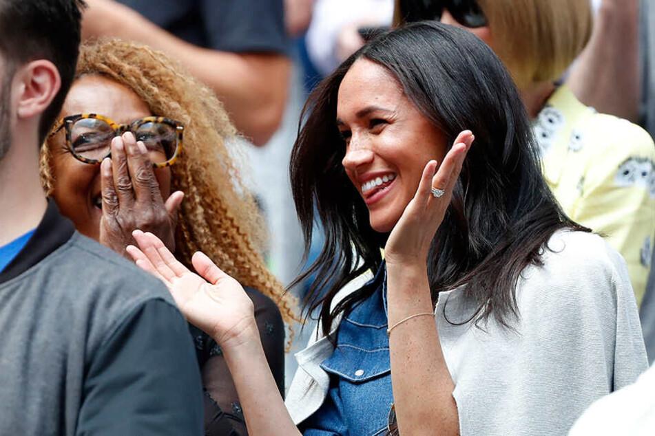 Herzogin Meghan reiste extra zum Tennis-Match von Serena Williams gegen Bianca Andreescu nach New York.