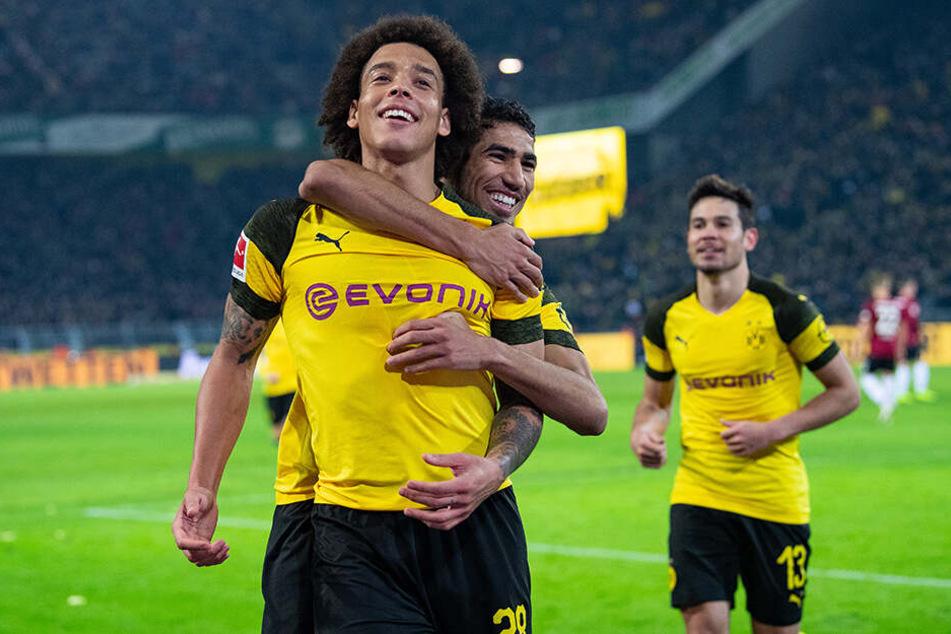 Eine Klasse für sich: Axel Witsel (l.) und Borussia Dortmund.
