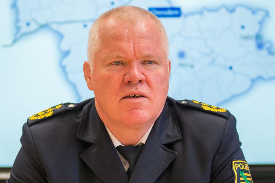 Polizeipräsident Horst Kretzschmar will in der Neustadt künftig konsequent durchgreifen.