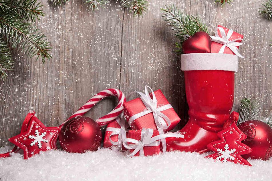 Am Montag startet in Freiberg wieder die Nikolausstiefel-Aktion.
