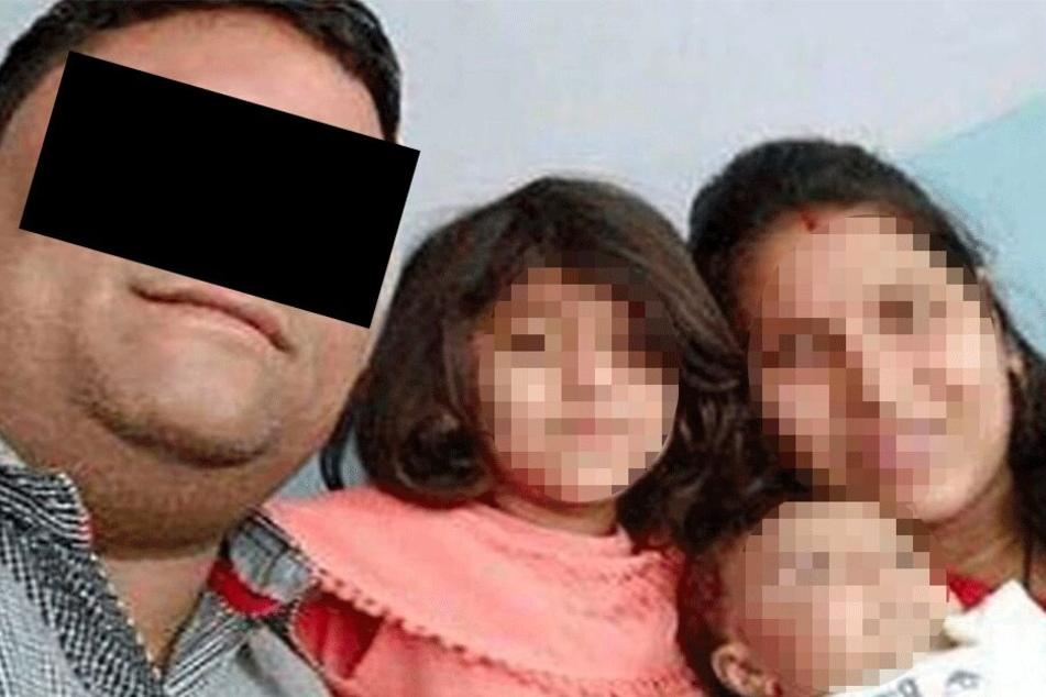 Auf Twitter kursiert ein Foto des Vaters mit seiner Familie.