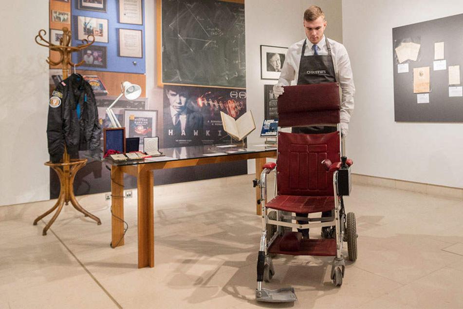 Dieser Rollstuhl brachte ein kleines Vermögen ein.