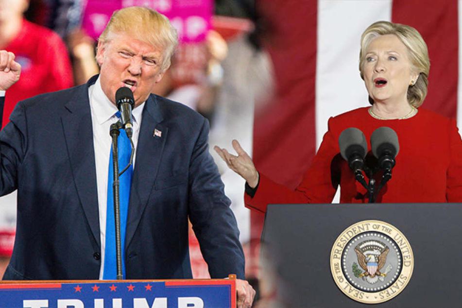 US-Wahl hat begonnen! Schüsse vor Wahllokal in Kalifornien