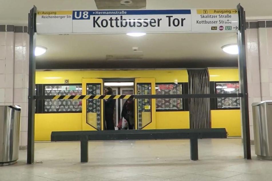 So soll der Bahnsteig am Kottbusser Tor eigentlich aussehen: Ohne Sitzbank.