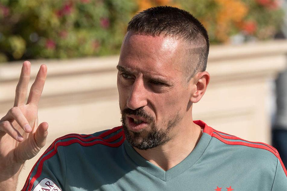 Franck Ribéry (35) sorgt mal wieder für Negativschlagzeilen.