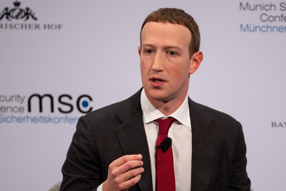 Mark Zuckerberg (36), Vorstandsvorsitzender von Facebook, hat Hasskommentare auf Facebook lange geduldet.