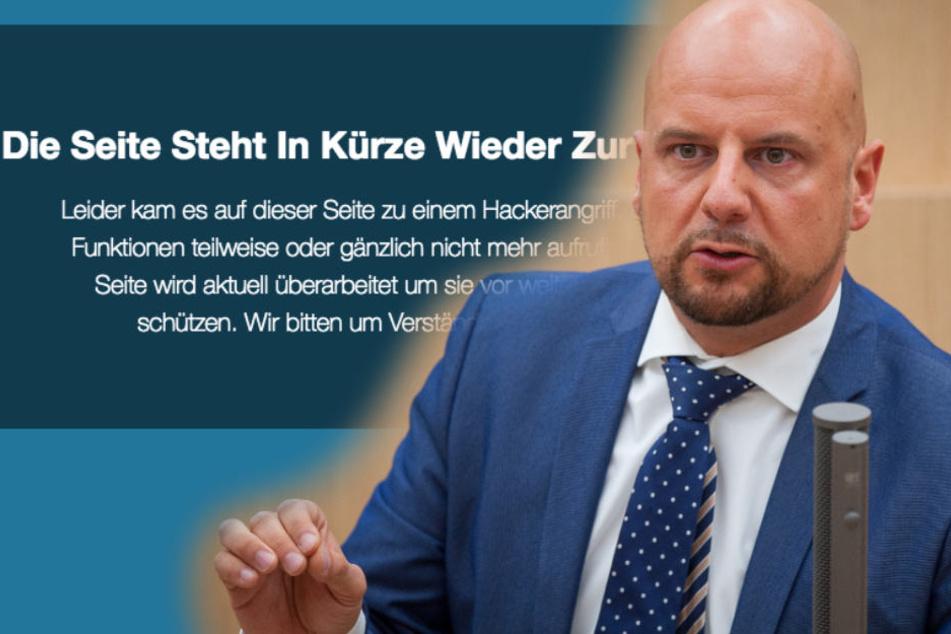 Ausgeprangert! AfD-Plattform nach Hackerangriff offline