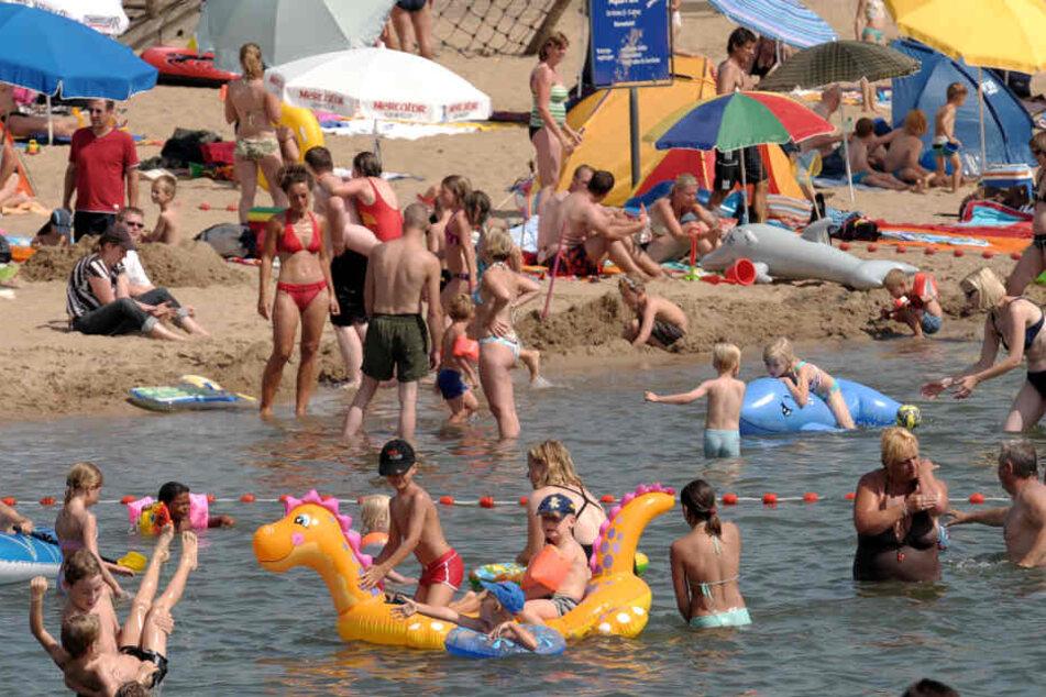 Der Blausteinsee ist ein beliebtes Ausflugsziel (Symbolbild).