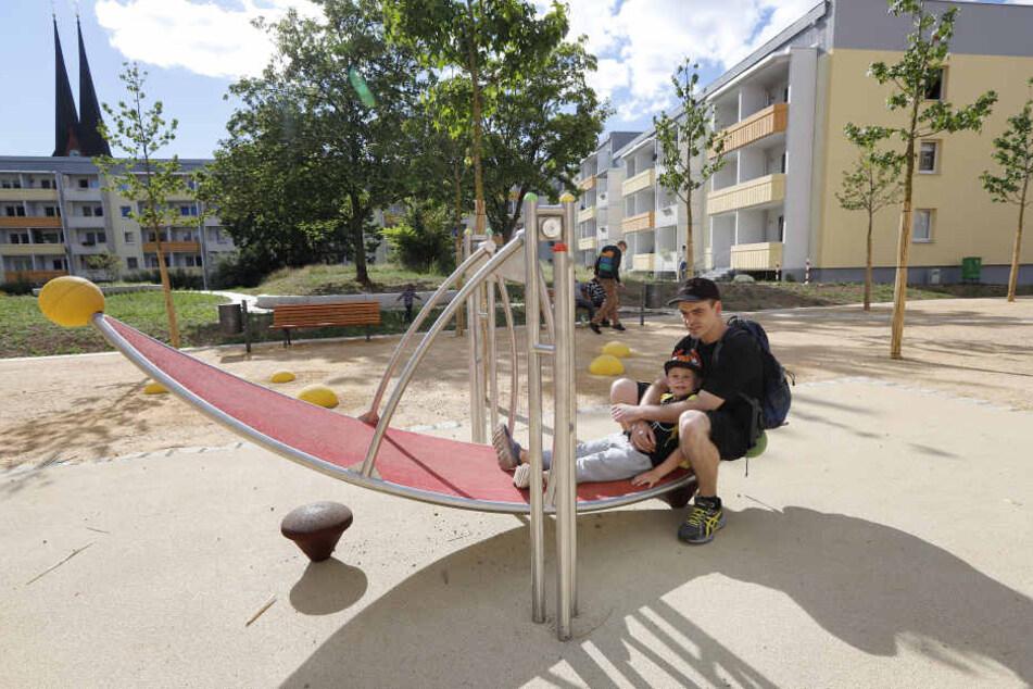 Die Sonnenberger können jetzt im neuen Albertipark abhängen.
