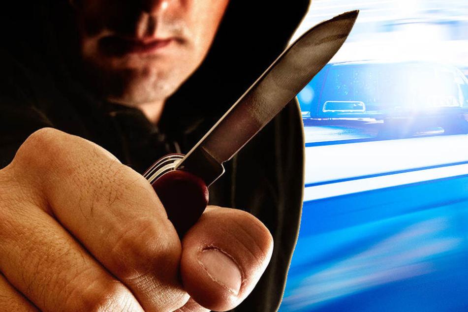 Streit eskaliert: Mann mit Messer bedroht