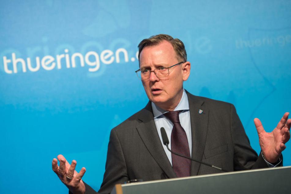 Ministerpräsident Bodo Ramelow (Linke) hält weiter an der Reform fest.
