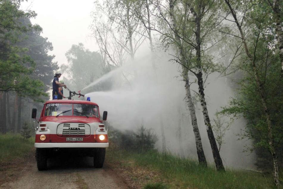 Die Feuerwehr war in Nordhessen im Einsatz. (Symbolbild)