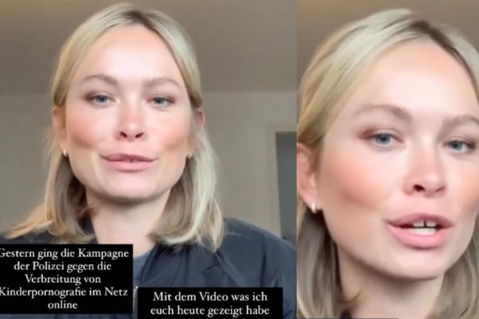 Nadine Berneis postet krasses Video und will damit auf ein wichtiges Thema aufmerksam machen