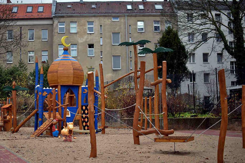 Der Spielplatz in Neukölln erregt die Gemüter.