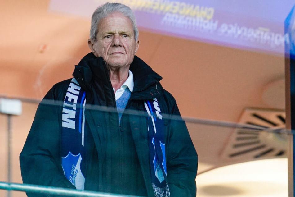 Dietmar Hopp (79) ist Mäzen des Fußball-Bundesligisten TSG 1899 Hoffenheim.